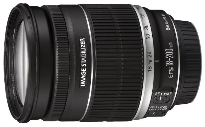 Canon EF-S 18-200mm f/3.5-5.6 IS USM